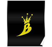 Lil' Kim The Queen Bee Collection Logo - Yellow  Edition Poster