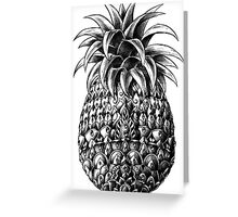 Ornate Pineapple Greeting Card