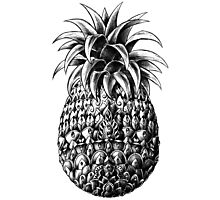 Ornate Pineapple Photographic Print