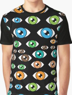 Eyes pattern Graphic T-Shirt