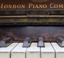 My Old Piano Sticker