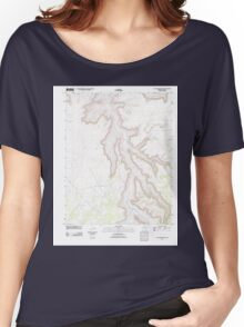 USGS TOPO Map Arizona AZ Tall Mountain NW 20111109 TM Women's Relaxed Fit T-Shirt