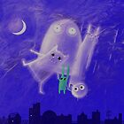 ghostly friends by Marianna Tankelevich