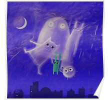 ghostly friends Poster