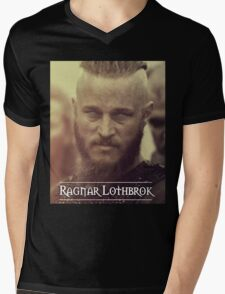 Ragnar Lothbrok - Vikings Mens V-Neck T-Shirt