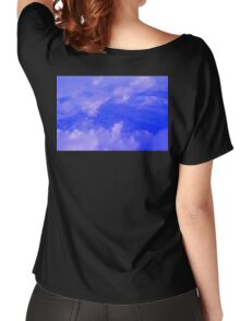 Aerial Blue Hues III  Women's Relaxed Fit T-Shirt