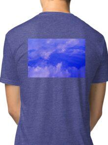 Aerial Blue Hues III  Tri-blend T-Shirt