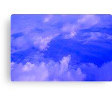 Aerial Blue Hues III  Canvas Print