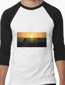 Pismo Beach Sunset Men's Baseball ¾ T-Shirt