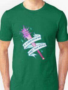 IF A CREEP HITS ON YOU, HIT THEM BACK TUMBLR Unisex T-Shirt