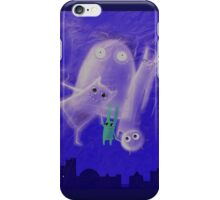 ghostly friends iPhone Case/Skin