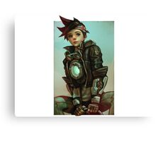 Tracer Canvas Print