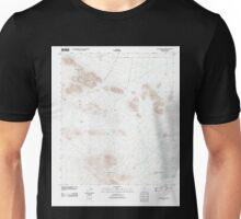 USGS TOPO Map Arizona AZ Waterman Peak 20111026 TM Unisex T-Shirt