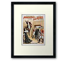 Performing Arts Posters The singing comedian Andrew Mack in his new play The rebel a drama of the Irish rebellion by James B Fagen 1336 Framed Print