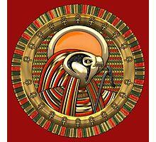 Egyptian Falcon Sun God Ra Photographic Print