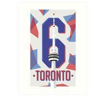 Toronto CN Tower '6' Poster Art Print