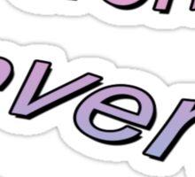 I DONT CARE TUMBLR  Sticker