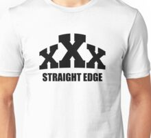 Straight Edge Unisex T-Shirt