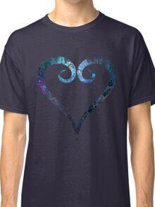Kingdom Hearts Heart grunge universe Classic T-Shirt