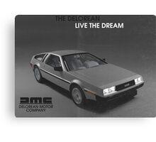 80s DeLorean advertisement  Canvas Print