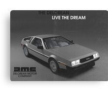 80s DeLorean advertisement  Canvas Print
