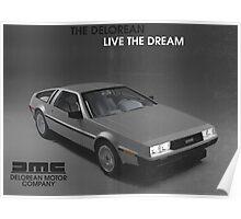80s DeLorean advertisement  Poster