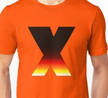 """X"" Letter Comic Book Style Unisex T-Shirt"