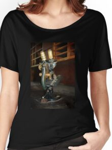 Old Microscope Women's Relaxed Fit T-Shirt