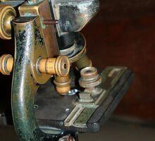 Old Microscope Sticker