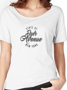 Dyer Avenue, New York City Women's Relaxed Fit T-Shirt