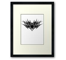 True Deception - Lines Framed Print