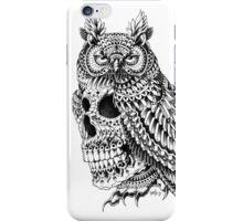 Great Horned Skull iPhone Case/Skin