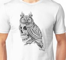 Great Horned Skull Unisex T-Shirt