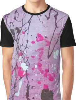 Splatter Graphic T-Shirt