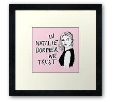 Natalie Dormer Framed Print