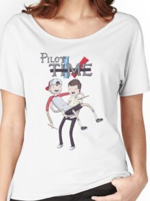 pilot time Women's Relaxed Fit T-Shirt