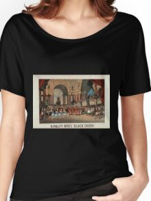 Performing Arts Posters Kiralfy Bros Black crook 0204 Women's Relaxed Fit T-Shirt