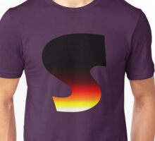 """S"" Letter Comic Book Style Unisex T-Shirt"