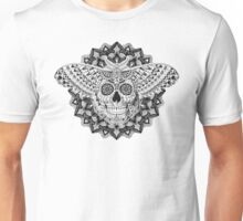 Skull Moth Unisex T-Shirt