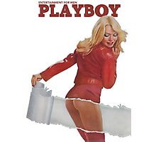 Playboy March 1975 Photographic Print