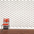 Gallery Wall and Chair by Robert Dettman