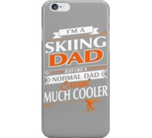 SKIING DAD iPhone Case/Skin