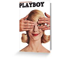 Playboy May 1961 II Greeting Card