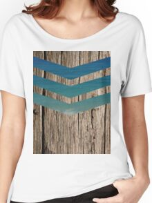 Wood and sea Women's Relaxed Fit T-Shirt