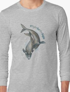 Southern Right Whales - Fight for the Bight Long Sleeve T-Shirt