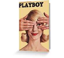Playboy May 1961 Greeting Card
