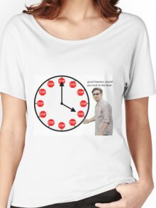 good heavens look at the time Women's Relaxed Fit T-Shirt