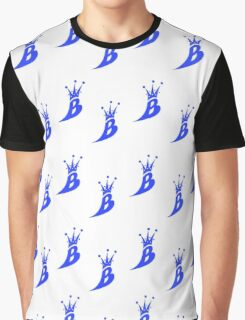 Lil' Kim The Queen Bee Logo Collection - ALL OVER PRINT EDITION (Blue) Graphic T-Shirt
