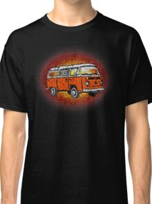 Camper Van Go Sunset Classic T-Shirt