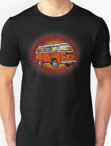 Camper Van Go Sunset Unisex T-Shirt